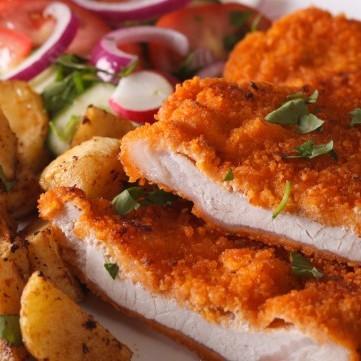 اسكالوب الدجاج المشوي الصحي