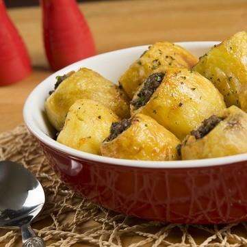 البطاطس المحشي مع منال العالم بالفيديو