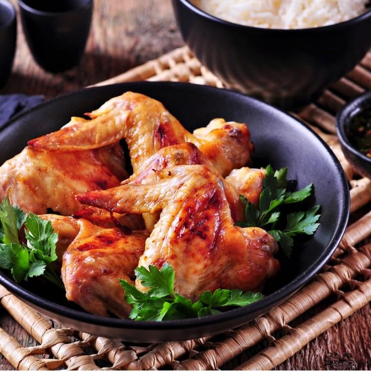 دجاج بالكزبرة والثوم للرجيم