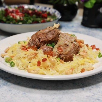 برياني اللحم لعيد الأضحى بالفيديو