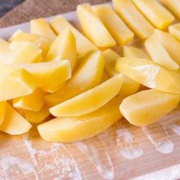 أسهل طريقة لتفريز البطاطس للقلي