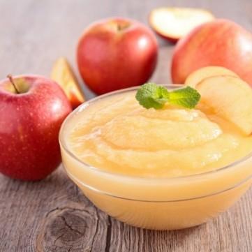صلصة التفاح المنزلية