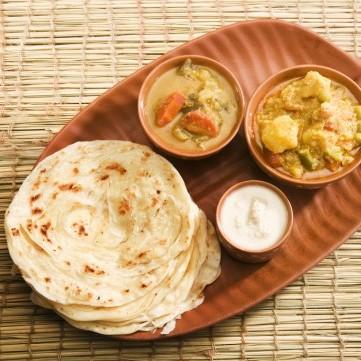 خبز البراتا الهندي