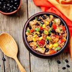 الأرز المكسيكي للرجيم
