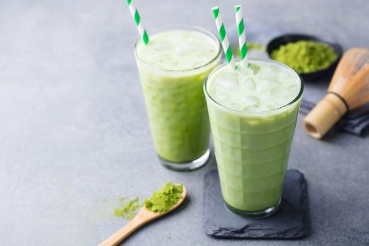 سموثي الشاي الأخضر للرجيم
