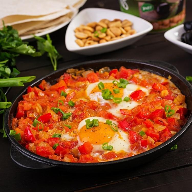 البيض التركي بالفرن