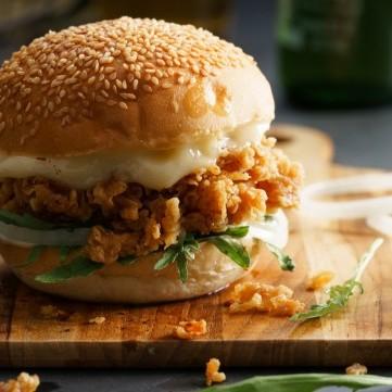 ساندويش سكالوب الدجاج