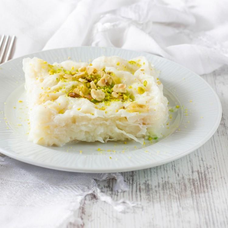صينية الجبن الحلو على الطريقة السعودية