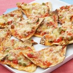 بيتزا التورتيلا على الطريقة المكسيكية