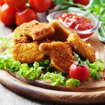 ناجتس الدجاج المقلي