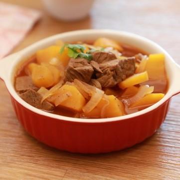 ايدام اللحم بالبطاطا الحلوة بالفيديو