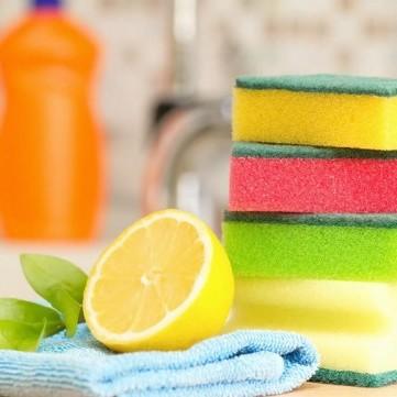 طريقة تنظيف اسفنجة التنظيف خطوة خطوة