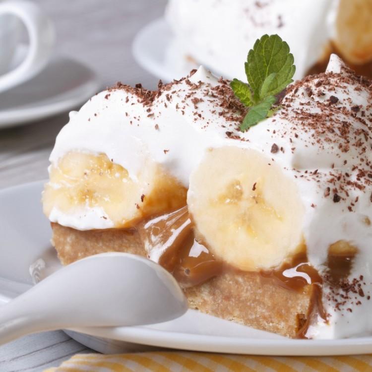 حلى الموز بالكراميل