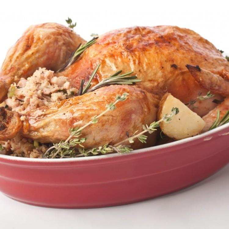 دجاج محشي بأرز أوزي ليوم الأم