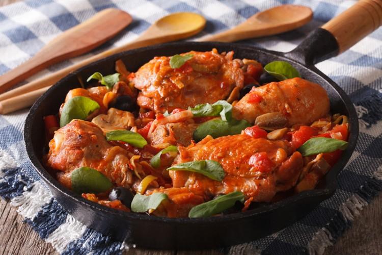 طريقة عمل الدجاج بالبابريكا لرجيم مثالي - وصفات طبخ - وصفات دجاج - أكلات  رجيم -
