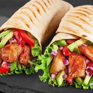 ساندويش فاهيتا الدجاج
