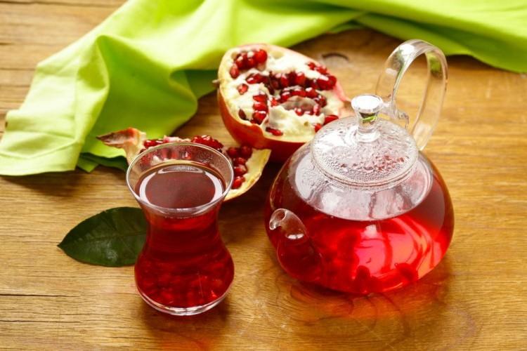 شاي التركي بالرمان