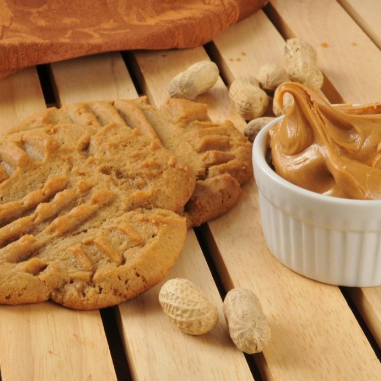 كوكيز زبدة الفول السوداني مع الجبن الكريمي