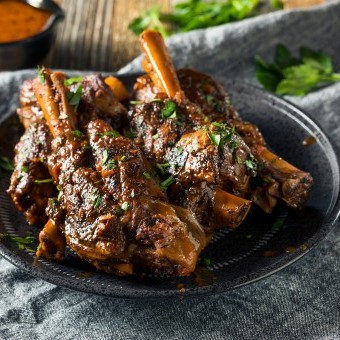 موزات لحم بالصوص ودبس الرمان