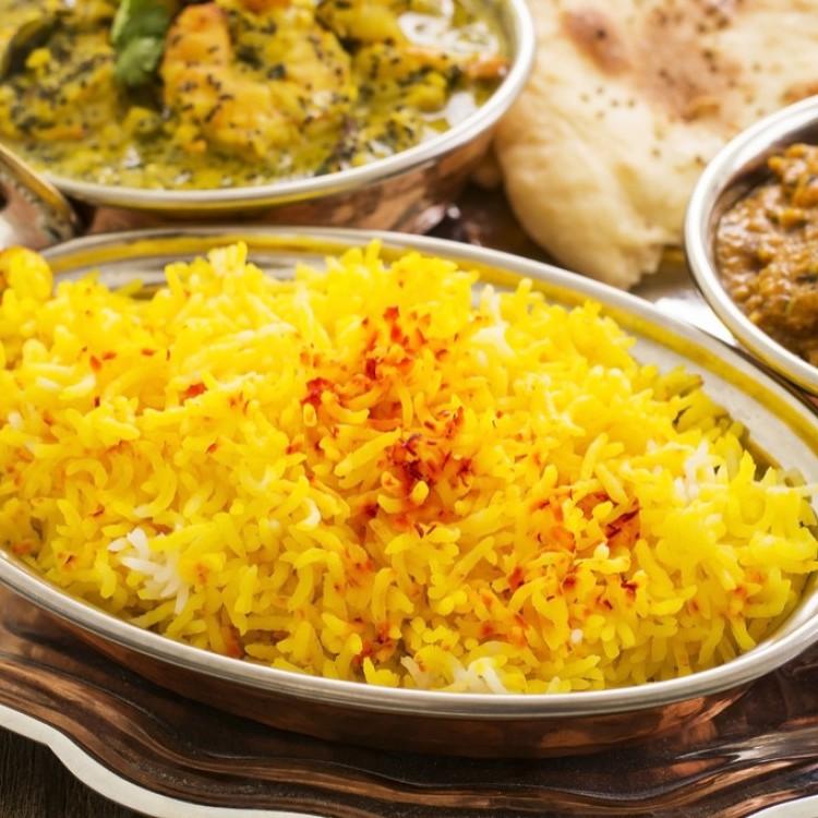 أرز بالزعفران