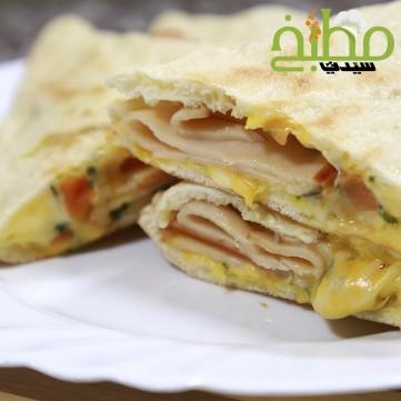 ساندويش الجبن بالفرن خطوة بخطوة بالصور
