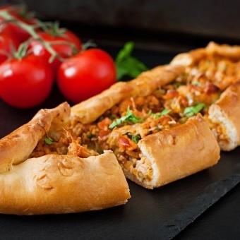 فطاير اللحم على الطريقة التركية