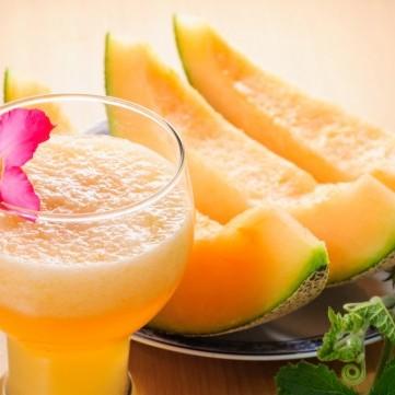 عصير الشمام الصيفي
