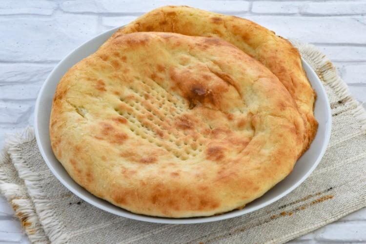 خبز التميس بالجبن