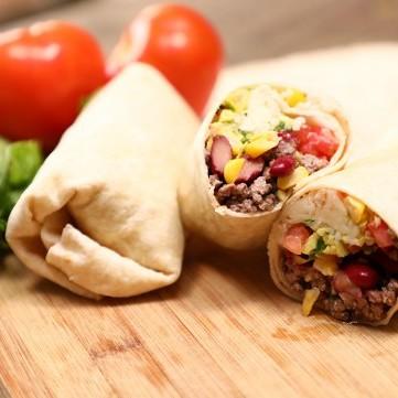 بوريتو اللحم على طريقة المطاعم بالفيديو