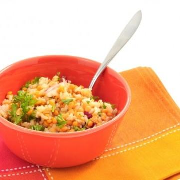 الأرز بالعدس