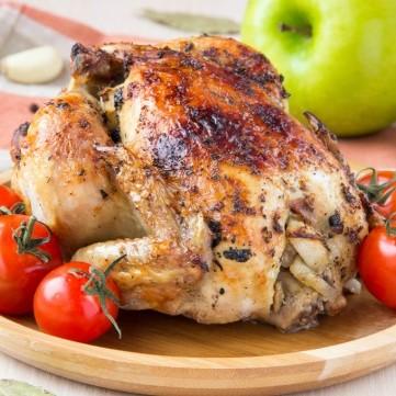 دجاج محشي بالأرز المبهر لغداء العيد