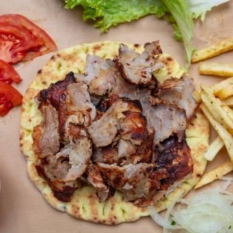 شاورما اللحم للسحور