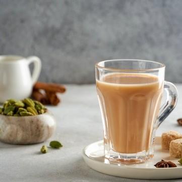 شاي حليب على الطريقة السعودية