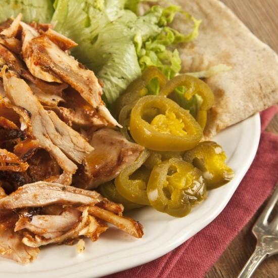 شاورما الدجاج على طريقة المطاعم