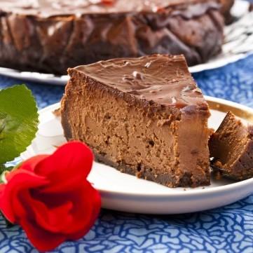 تشيز كيك شوكولاتة مارس