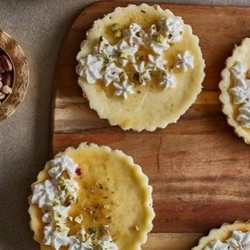 تارت الكنافة بالجبن