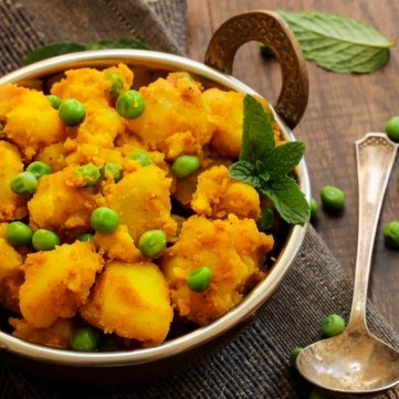 مسالا البطاطس الهندية للنباتيين
