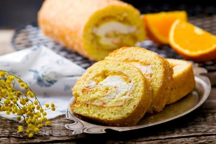سويسرول البرتقال