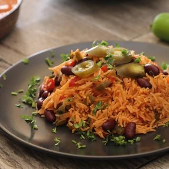 الأرز المكسيكي على الطريقة المكسيكية بالفيديو
