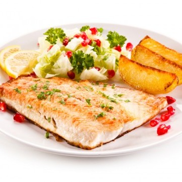 صينية سمك بالفرن للرجيم