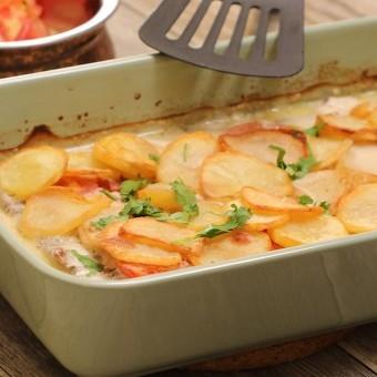 كفتة بالطحينية مع البطاطس سهلة وشهية