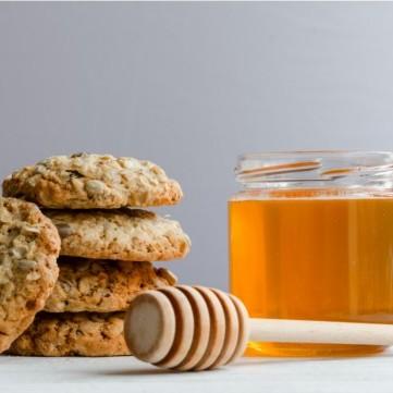 كوكيز الشوفان بالعسل
