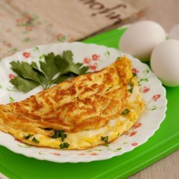 عجة البيض المقلية