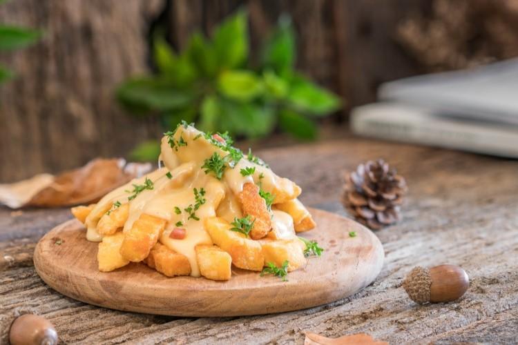 بطاطس فرايز بالجبن