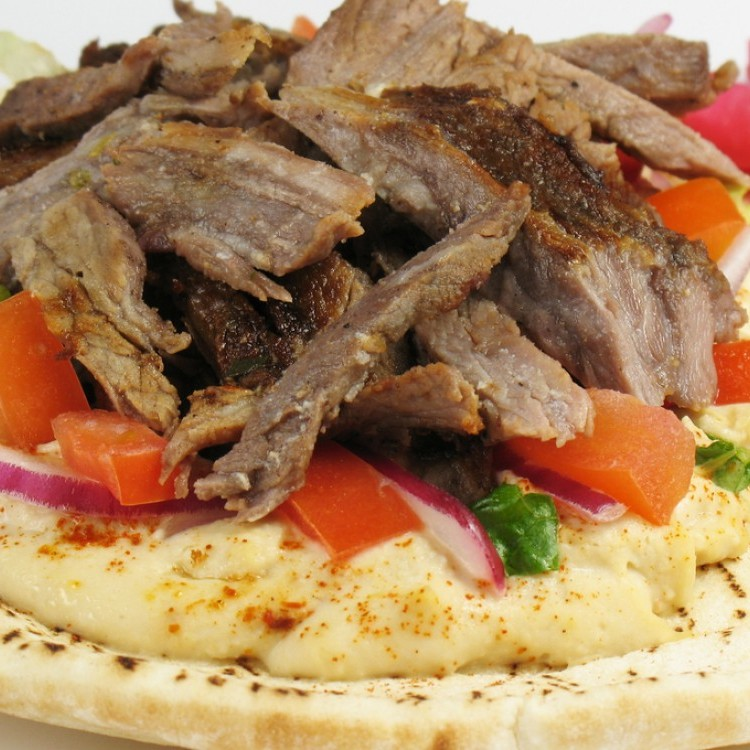 شاورما اللحم على الطريقة التركية