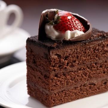كيكة الشوكولاتة السريعة