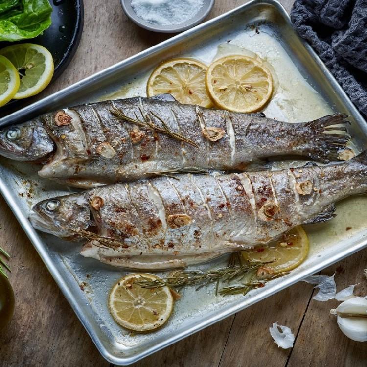 سمك مشوي بالليمون للرجيم
