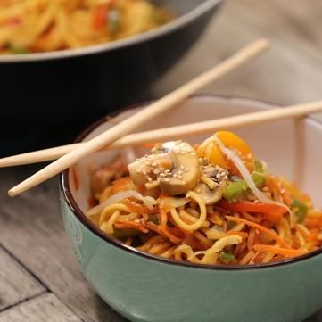 أطباق صينية شهية وسريعة بالصور والفيديو