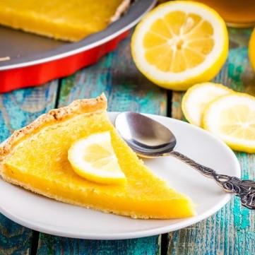حلى الليمون بالكريمة