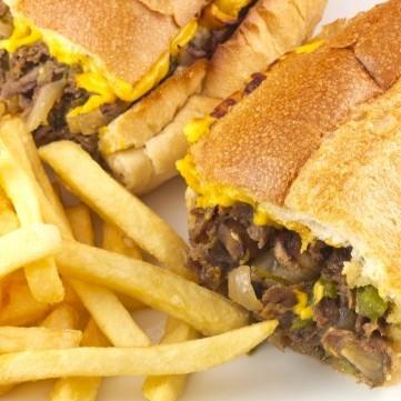 ساندويشات ستيك لحم للرجيم